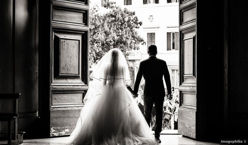 Il matrimonio di Daniele e Elisa a Roma, Roma