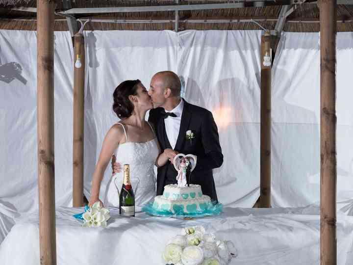 le nozze di Noemi e Pier Giuseppe