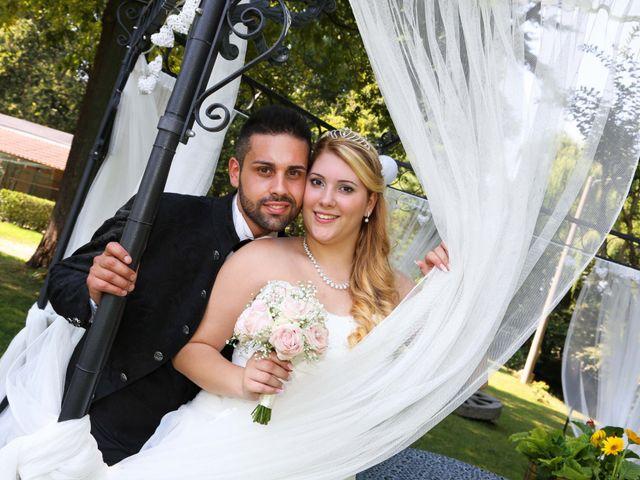 Il matrimonio di Giuseppe e Giada a Busto Arsizio, Varese 17