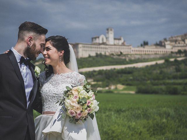 Il matrimonio di Filippo e Rebecca a Assisi, Perugia 16