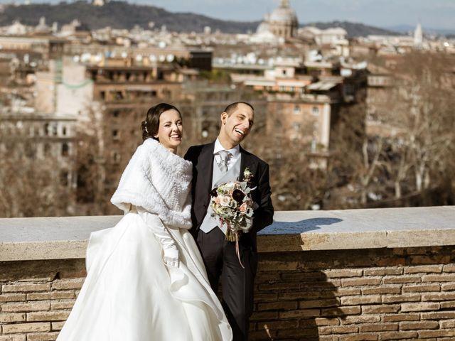 Il matrimonio di Achille e Azzurra a Roma, Roma 34