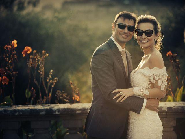 Le nozze di Caroline e Victor