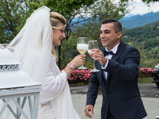 Il matrimonio di Sara e Davide a Gandosso, Bergamo 52