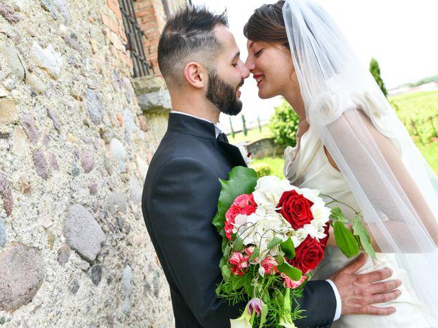Il matrimonio di Chiara e Davide a Guidizzolo, Mantova 25