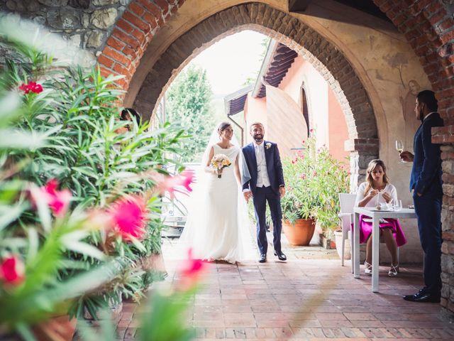 Il matrimonio di Fabio e Valeria a Godiasco, Pavia 83