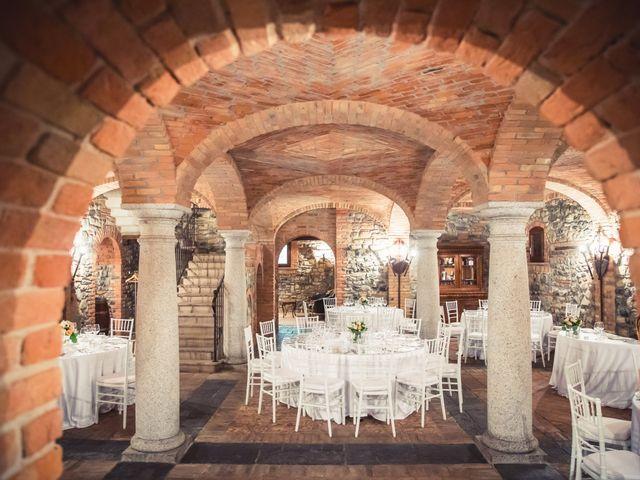 Il matrimonio di Fabio e Valeria a Godiasco, Pavia 89