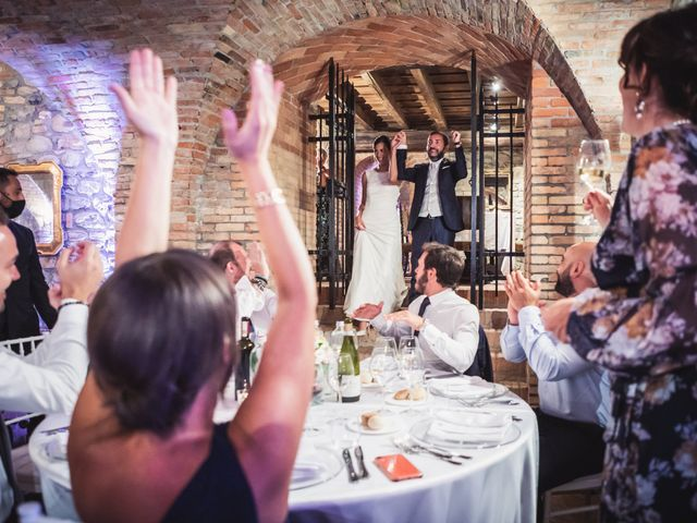 Il matrimonio di Fabio e Valeria a Godiasco, Pavia 93