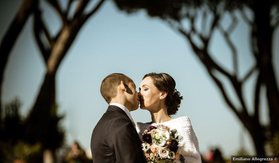 Il matrimonio di Achille e Azzurra a Roma, Roma