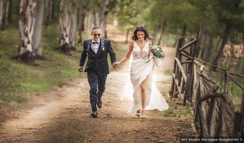 Il matrimonio di Filippo e Maria a Leonforte, Enna