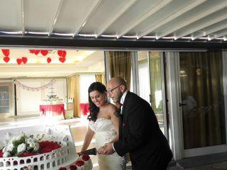 Le nozze di Alessandra benedetti  e Massimo Scaringella
