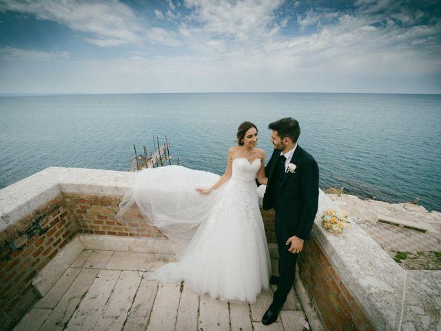 Il matrimonio di Alfredo e Stefania a Termoli, Campobasso 73