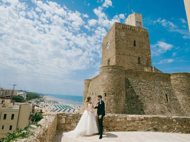 Il matrimonio di Alfredo e Stefania a Termoli, Campobasso 81
