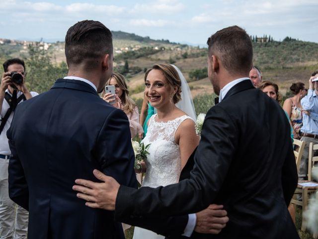 Il matrimonio di Luca e Valentina a Carmignano, Prato 28
