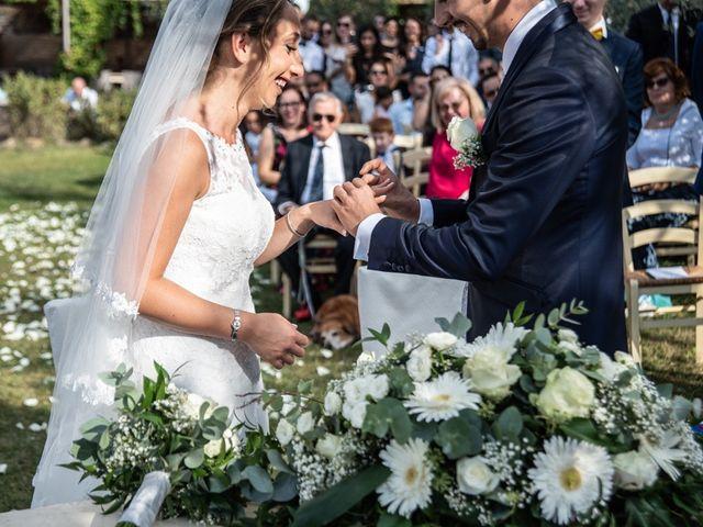 Il matrimonio di Luca e Valentina a Carmignano, Prato 32