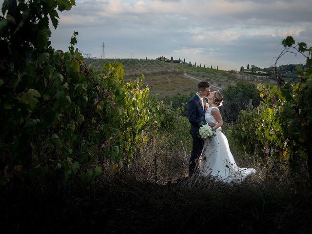 Il matrimonio di Luca e Valentina a Carmignano, Prato 40