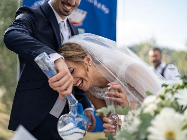 Il matrimonio di Luca e Valentina a Carmignano, Prato 82
