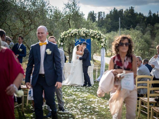 Il matrimonio di Luca e Valentina a Carmignano, Prato 83