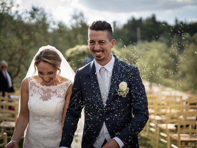 Il matrimonio di Luca e Valentina a Carmignano, Prato 84