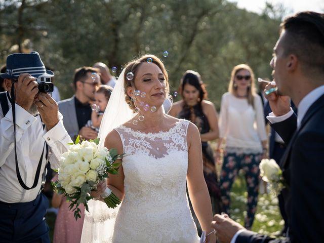 Il matrimonio di Luca e Valentina a Carmignano, Prato 86