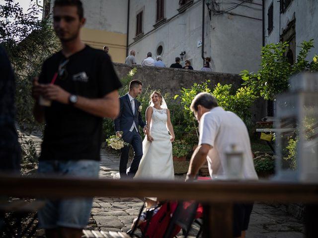 Il matrimonio di Luca e Valentina a Carmignano, Prato 88