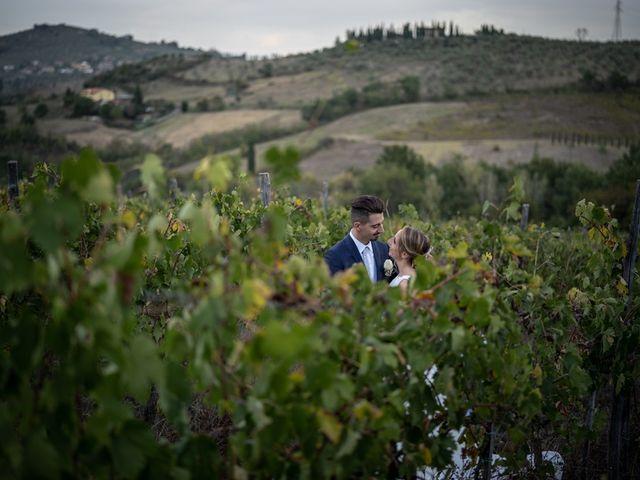 Il matrimonio di Luca e Valentina a Carmignano, Prato 96