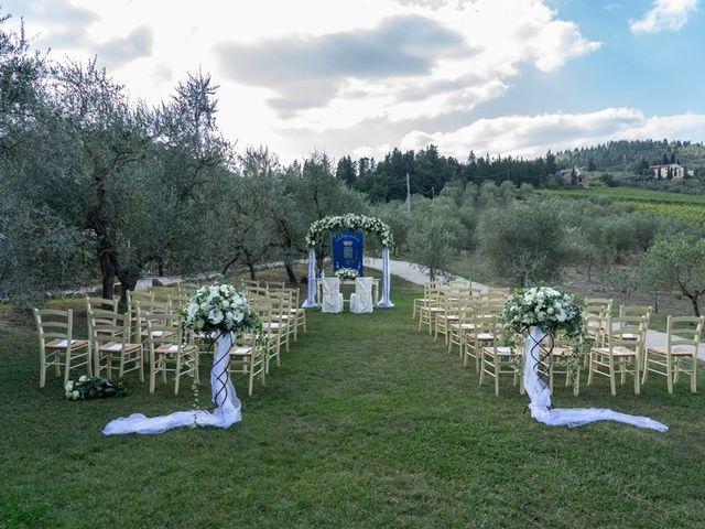 Il matrimonio di Luca e Valentina a Carmignano, Prato 103