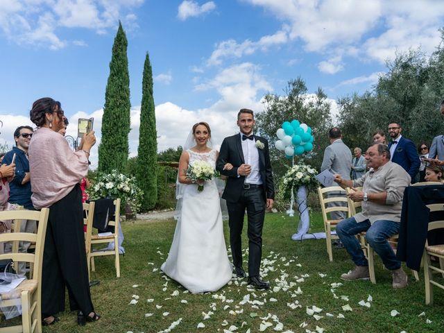 Il matrimonio di Luca e Valentina a Carmignano, Prato 104