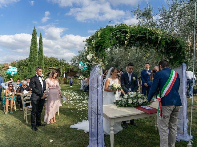 Il matrimonio di Luca e Valentina a Carmignano, Prato 105
