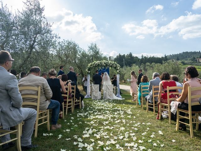 Il matrimonio di Luca e Valentina a Carmignano, Prato 106