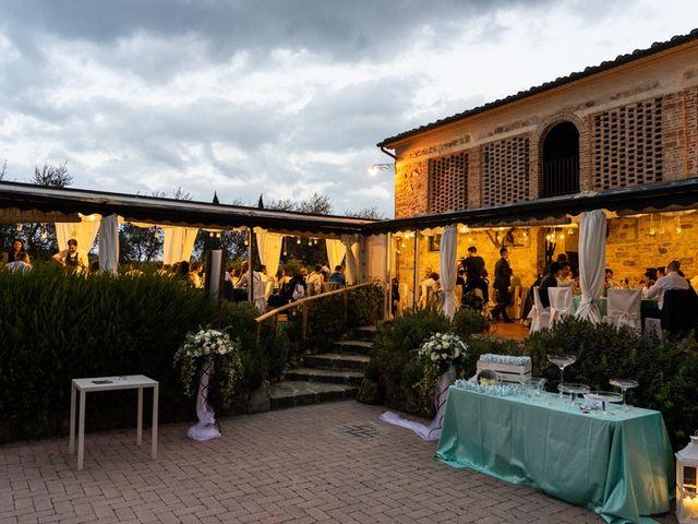 Il matrimonio di Luca e Valentina a Carmignano, Prato 113