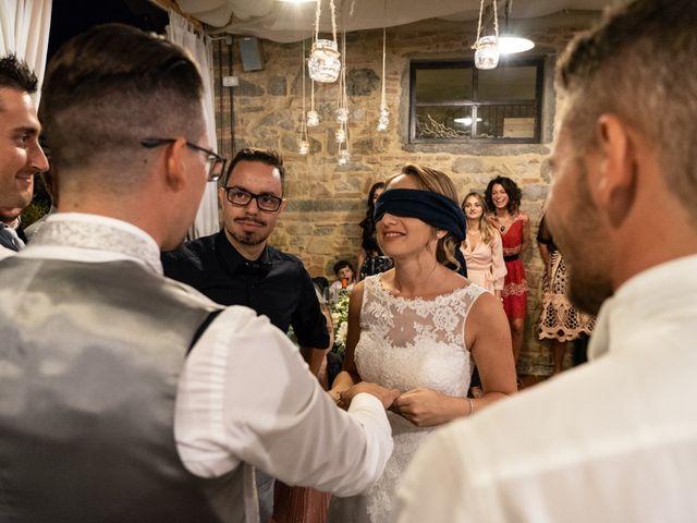 Il matrimonio di Luca e Valentina a Carmignano, Prato 114