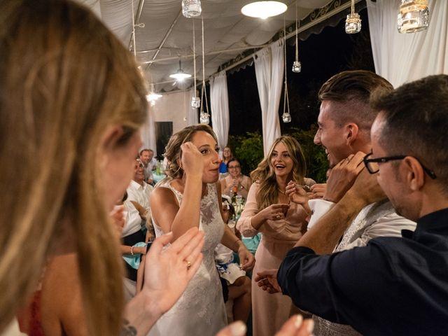Il matrimonio di Luca e Valentina a Carmignano, Prato 115