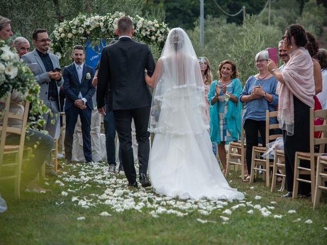 Il matrimonio di Luca e Valentina a Carmignano, Prato 123