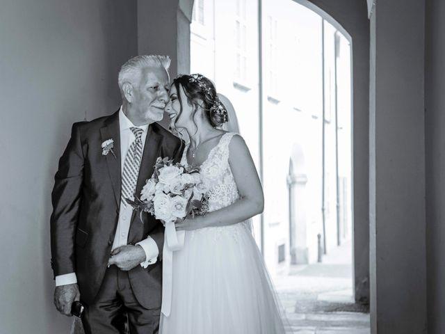 Il matrimonio di Riccardo e Isabella a Canzo, Como 14