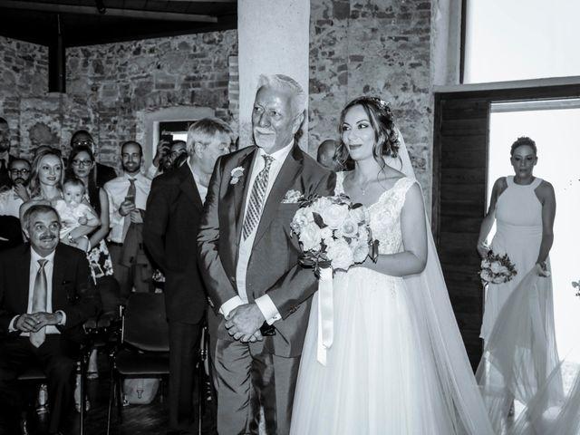 Il matrimonio di Riccardo e Isabella a Canzo, Como 15