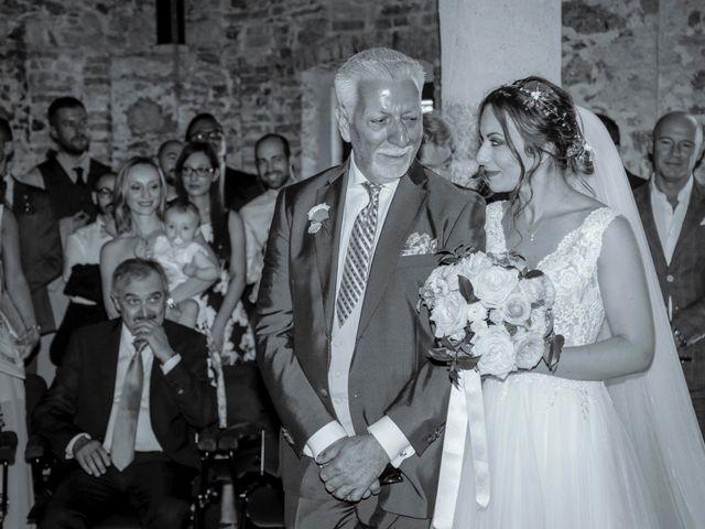 Il matrimonio di Riccardo e Isabella a Canzo, Como 16