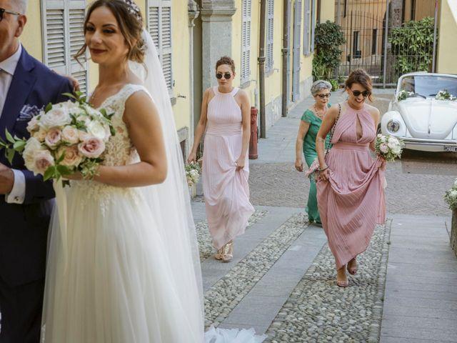 Il matrimonio di Riccardo e Isabella a Canzo, Como 17