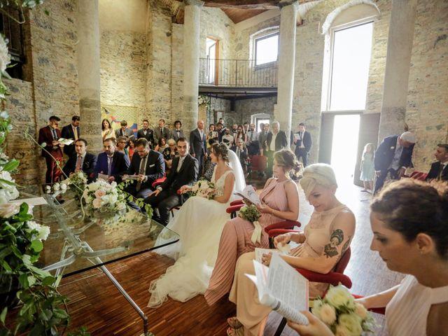 Il matrimonio di Riccardo e Isabella a Canzo, Como 24