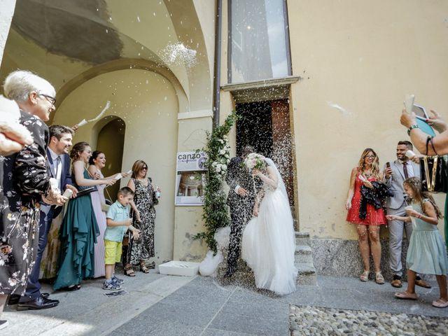 Il matrimonio di Riccardo e Isabella a Canzo, Como 26