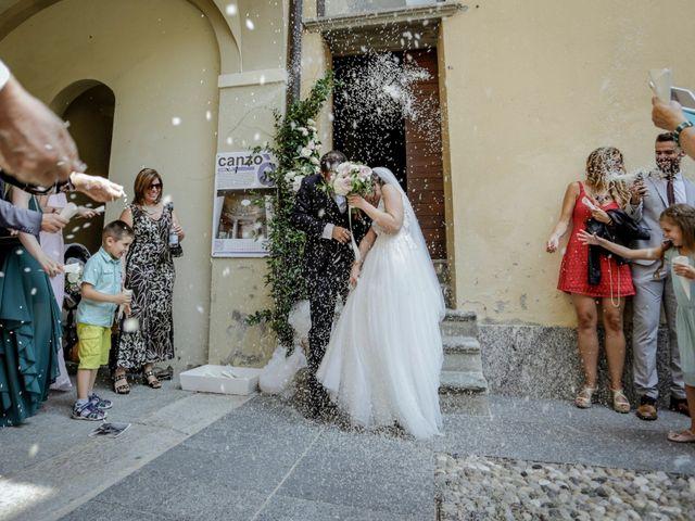 Il matrimonio di Riccardo e Isabella a Canzo, Como 27
