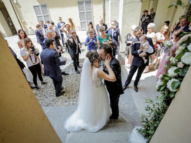 Il matrimonio di Riccardo e Isabella a Canzo, Como 29
