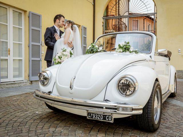 Il matrimonio di Riccardo e Isabella a Canzo, Como 32
