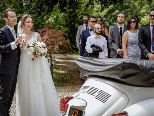 Il matrimonio di Riccardo e Isabella a Canzo, Como 44