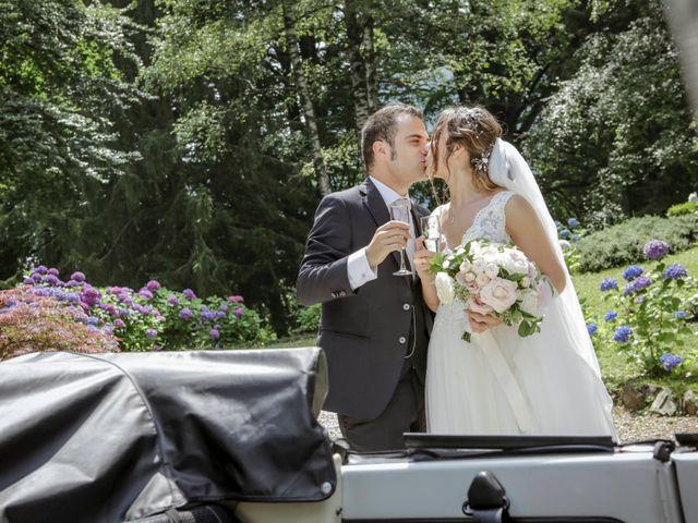 Il matrimonio di Riccardo e Isabella a Canzo, Como 51