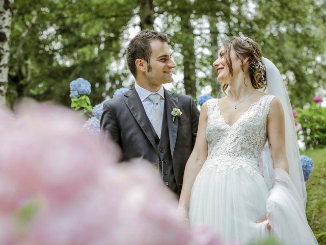 Il matrimonio di Riccardo e Isabella a Canzo, Como 54