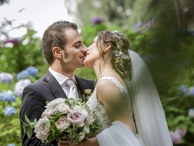 Il matrimonio di Riccardo e Isabella a Canzo, Como 56