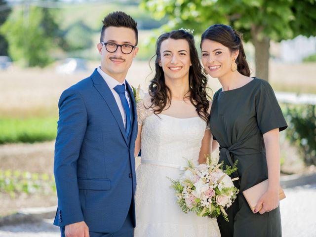 Il matrimonio di Giuliana e Enrico a Corridonia, Macerata 21