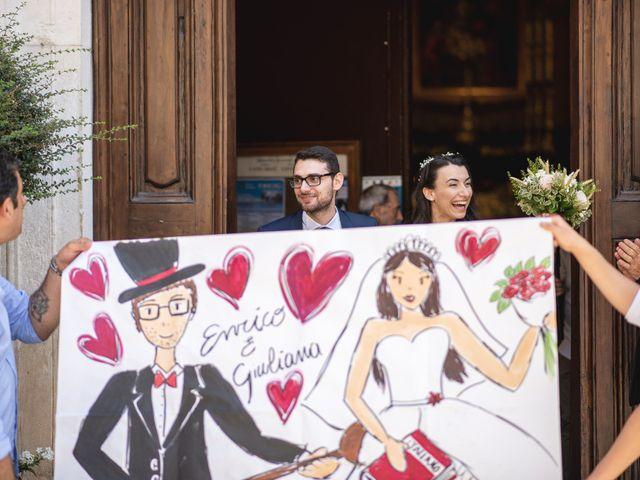 Il matrimonio di Giuliana e Enrico a Corridonia, Macerata 65