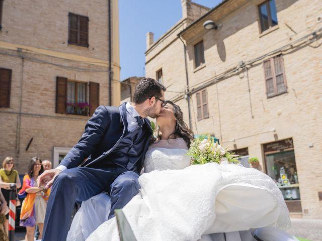 Il matrimonio di Giuliana e Enrico a Corridonia, Macerata 74