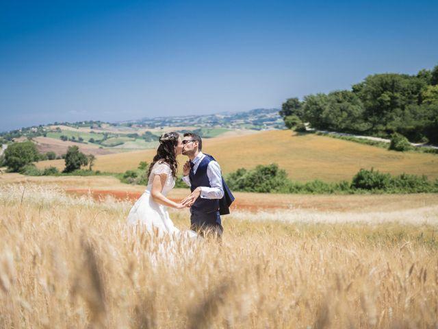 Il matrimonio di Giuliana e Enrico a Corridonia, Macerata 93